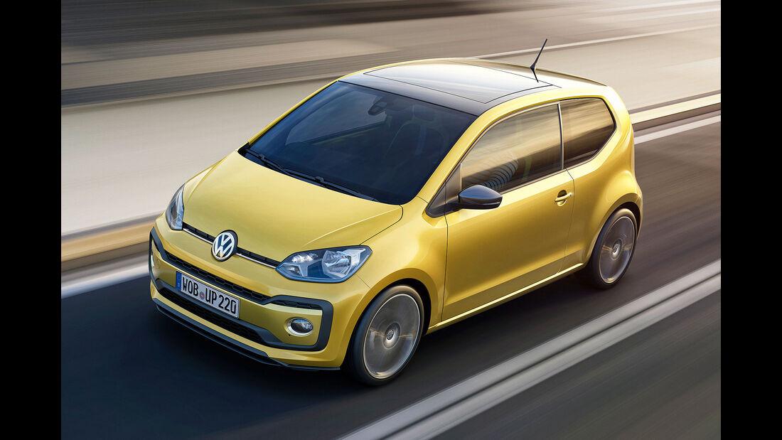 VW Up Facelift Sperrfrist 22.2. 14.00 Uhr