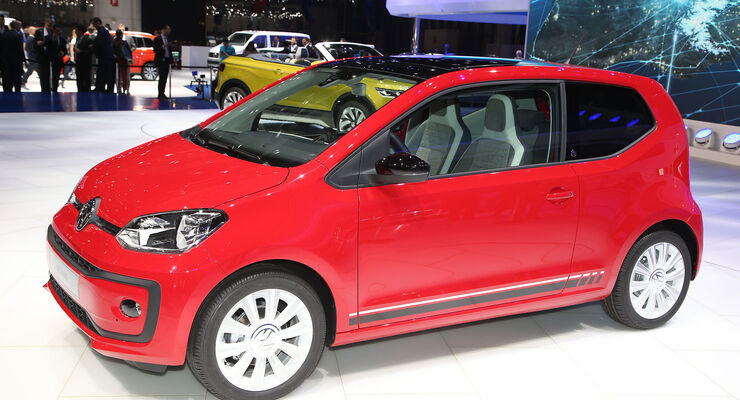 VW Up Facelift Sperrfrist 22.2. 14.00 Uhr