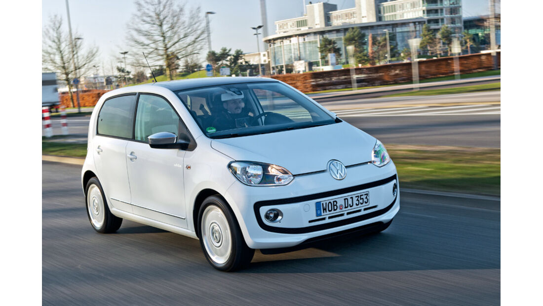 VW Up!, Frontansicht