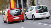 VW Up, Heckansicht
