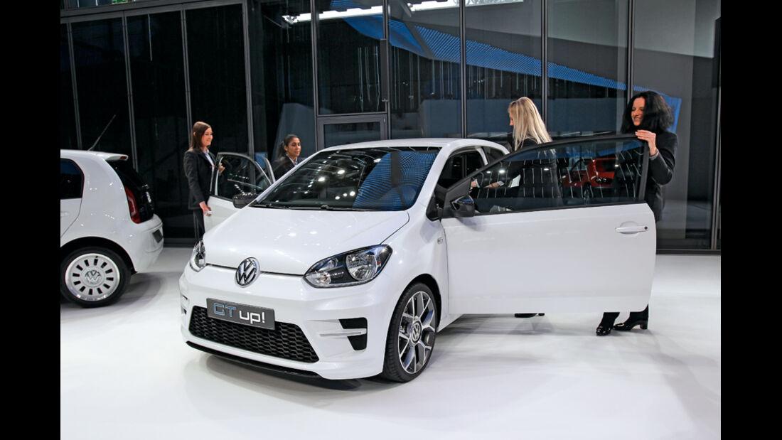 VW Up!, Präsentation, Frontansicht