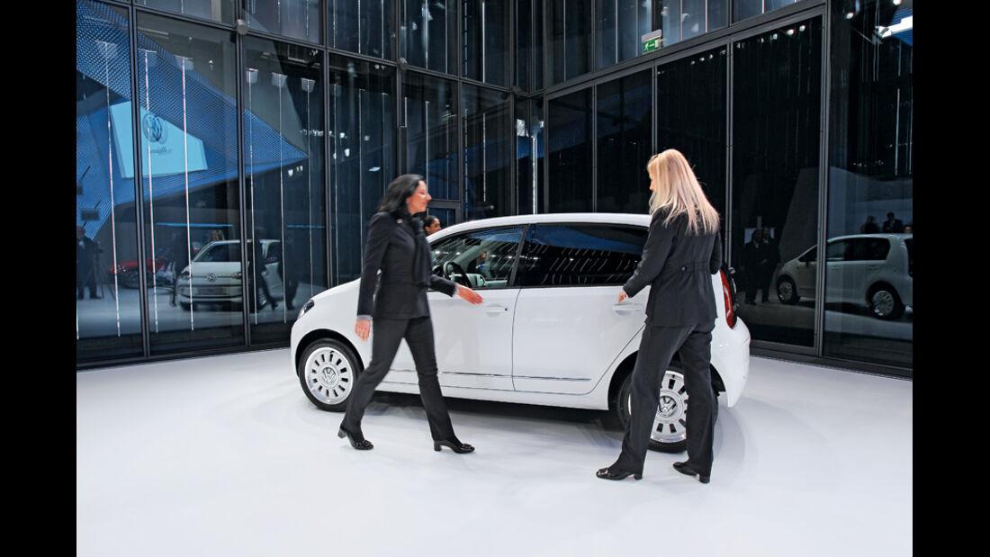 VW Up!, Präsentation, Seitenansicht