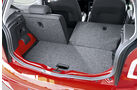 VW Up, Rücksitze, umklappbar