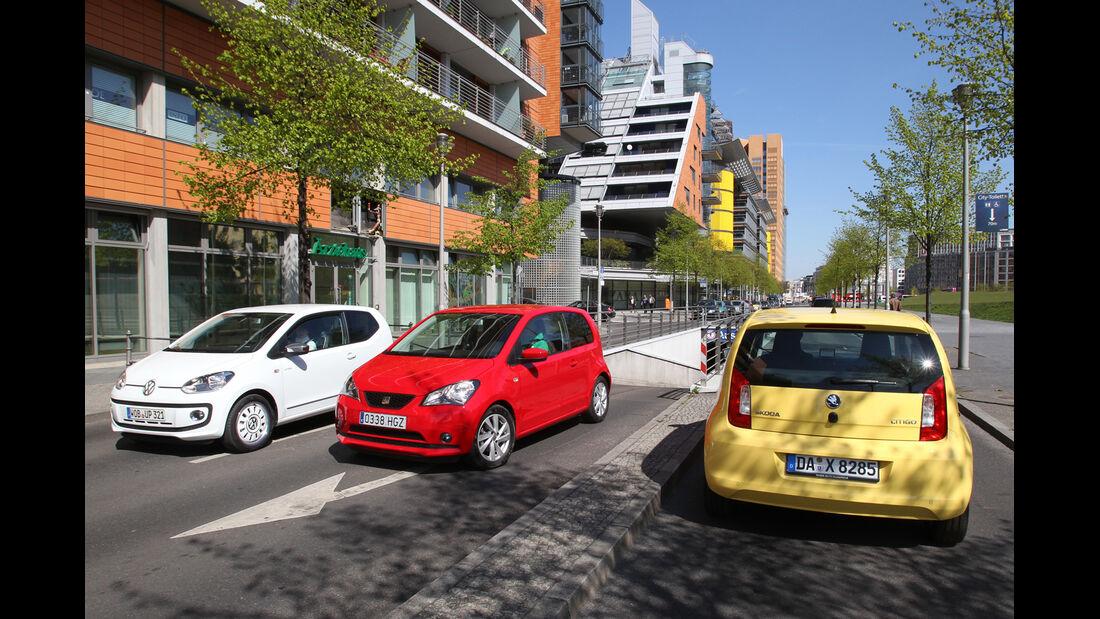 VW Up, Seat Mii, Skoda Citigo