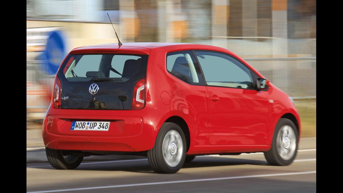 VW Up, Seitenansicht