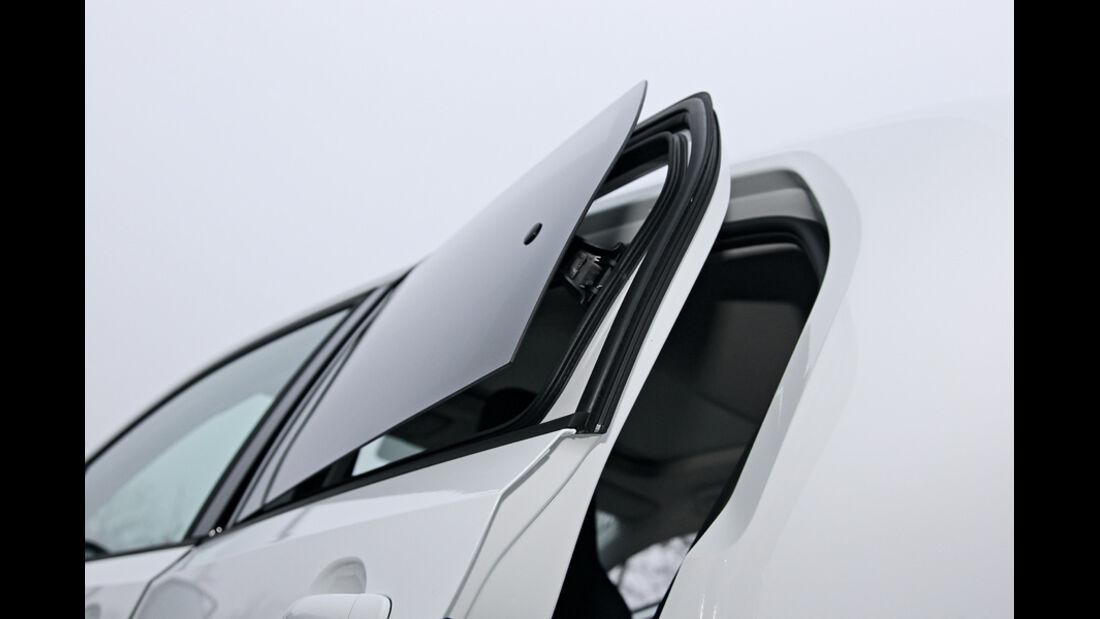 VW Up!, Seitentür, Seitenfenster
