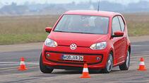 VW Up, Slalom