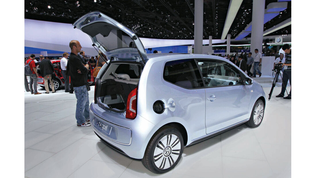 VW Up blue e-motion