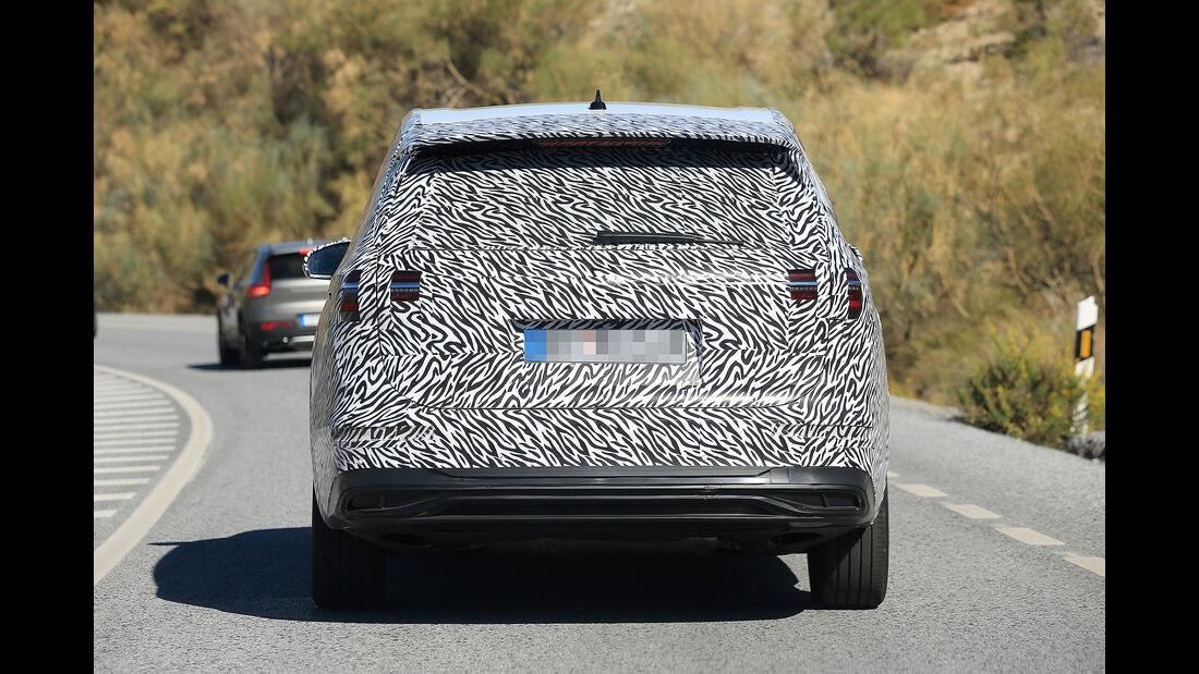 VW Viloran Erlkönig China