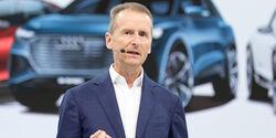 VW Vorstandsvorsitzender Herbert Diess