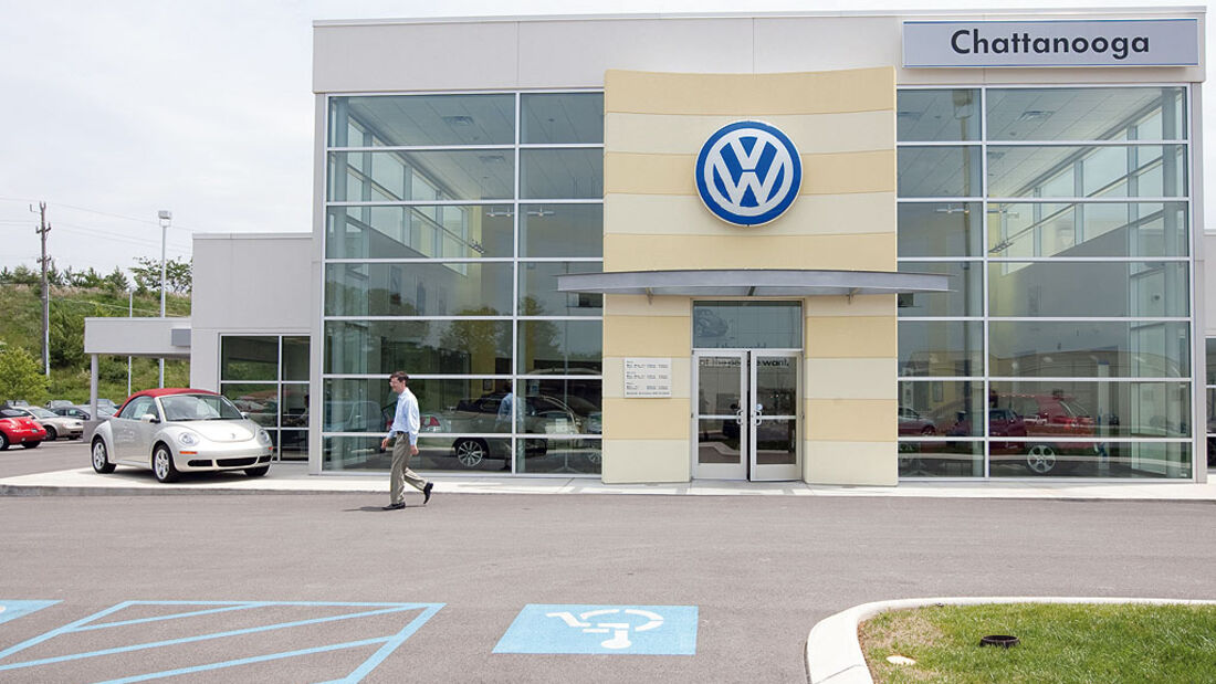 VW-Werk in Chattanooga, Tennessee, USA