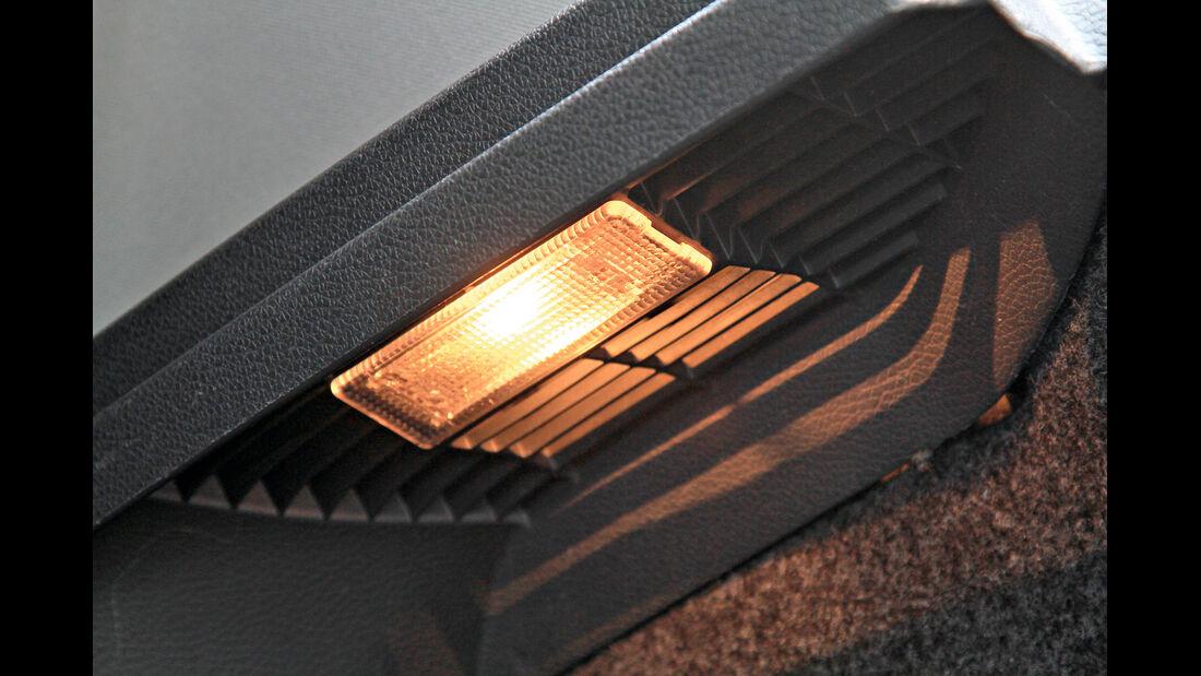 VW Werkstätten, Kofferraumbeleuchtung