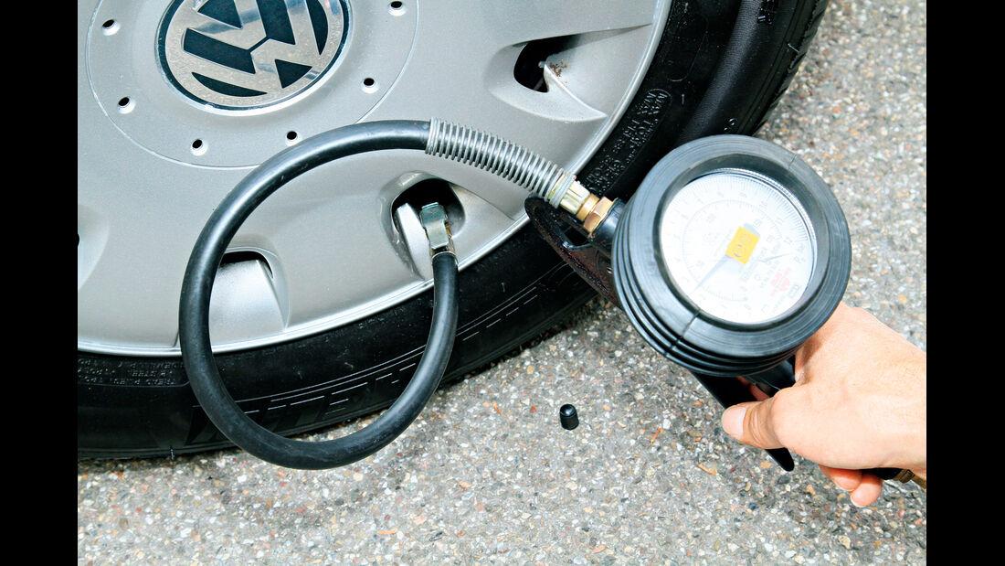 VW Werkstätten, Luftdruck