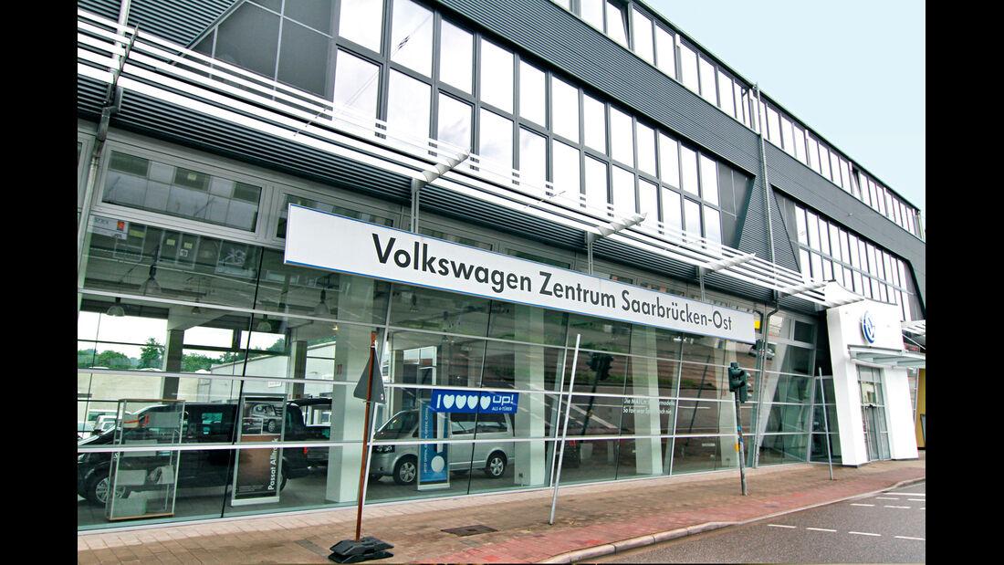 VW Werkstätten, VW Zentrum Saarbrücken Ost