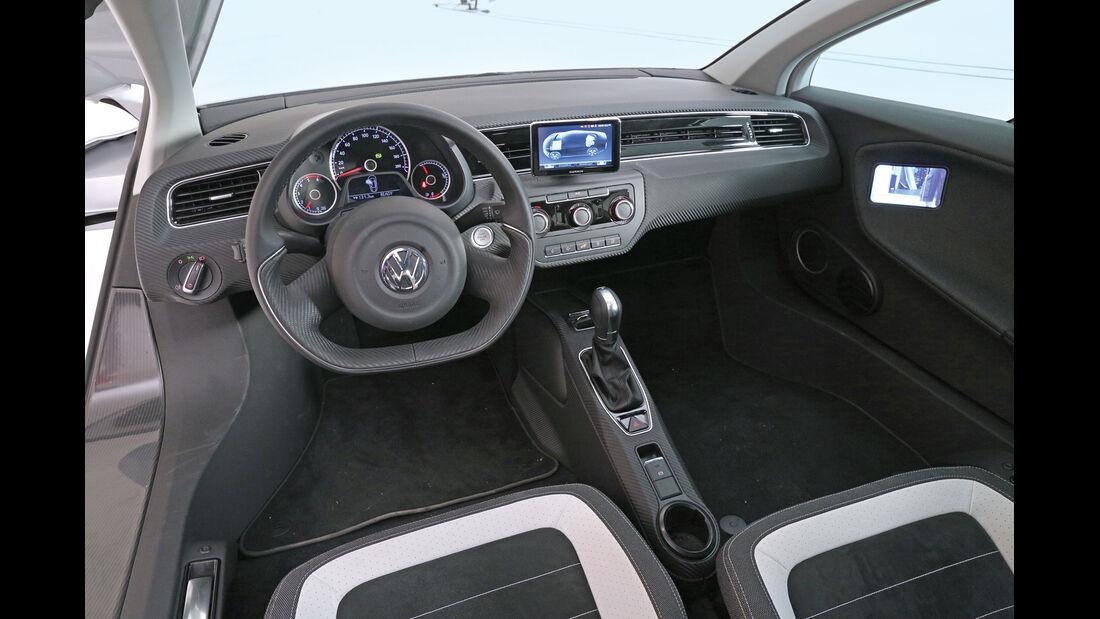 VW XL1, Cockpit