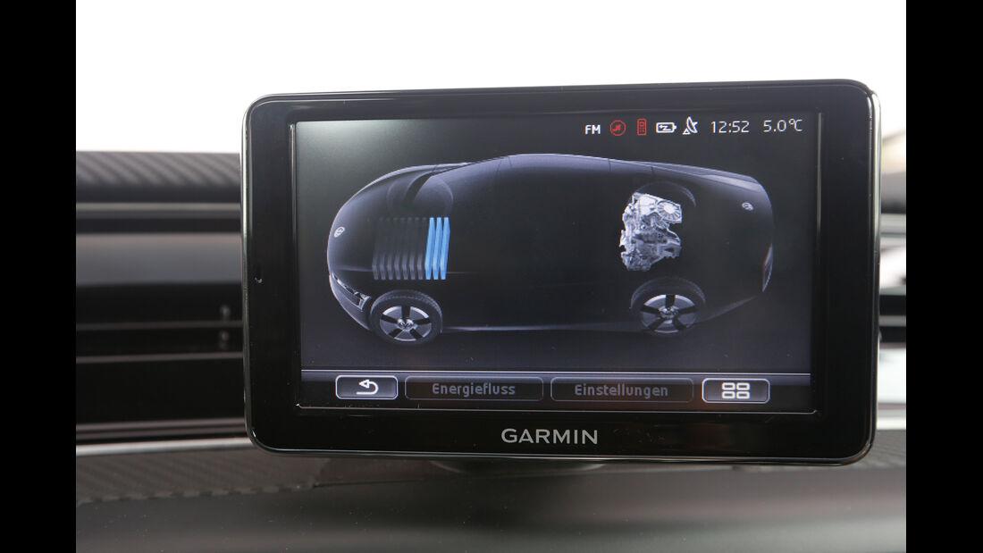 VW XL1, Display, Bordcomputer