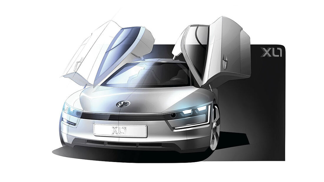VW XL1, Einliter-Auto,