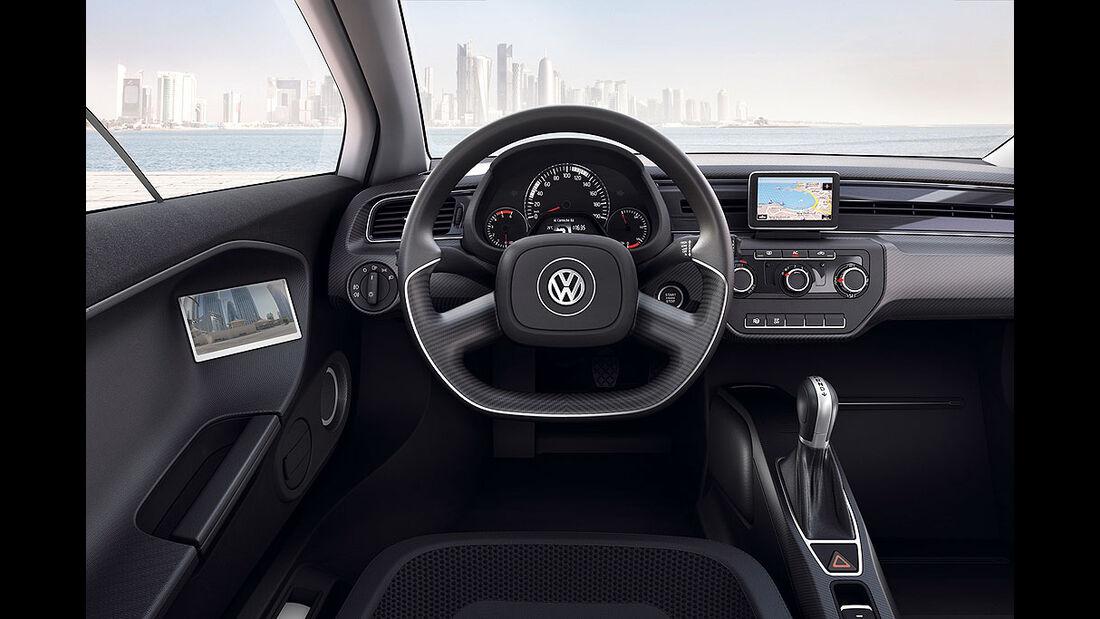 VW XL1, Einliter-Auto, Innenraum