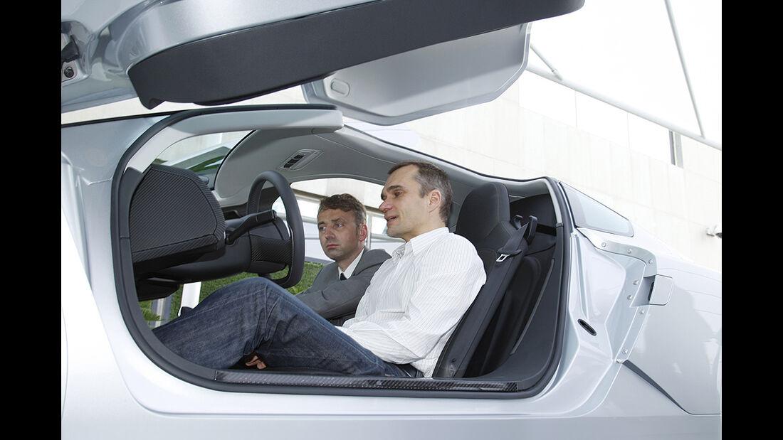 VW XL1, Einliter-Auto, Jörn Thomas