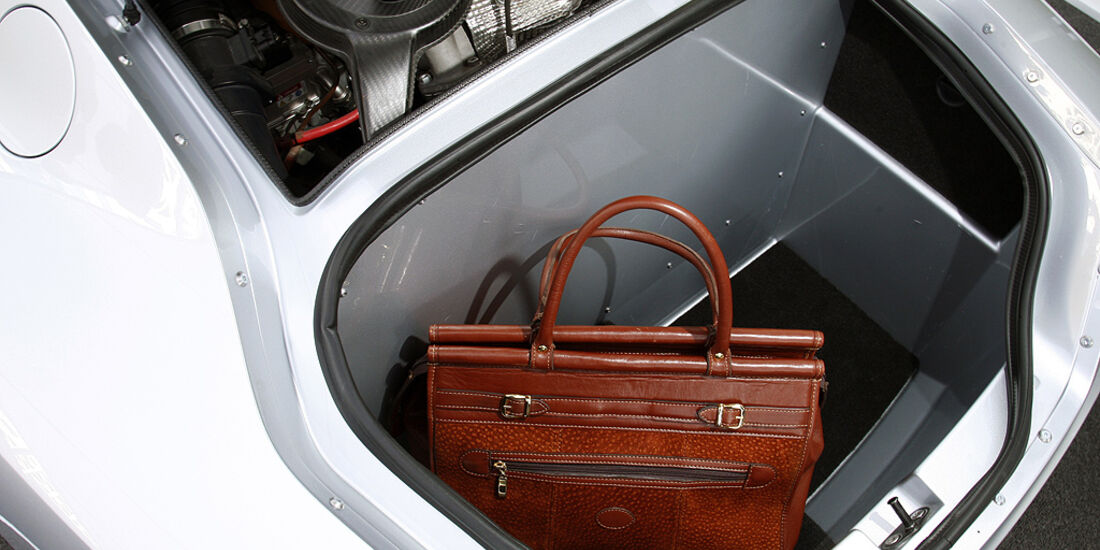VW XL1, Einliter-Auto, Kofferraum