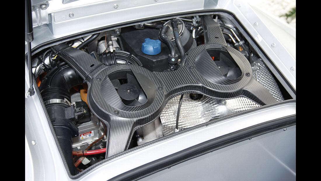 VW XL1, Einliter-Auto, Motor