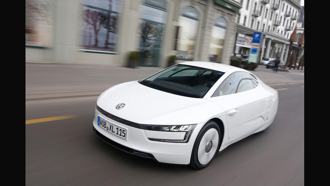 VW XL1, Frontansicht