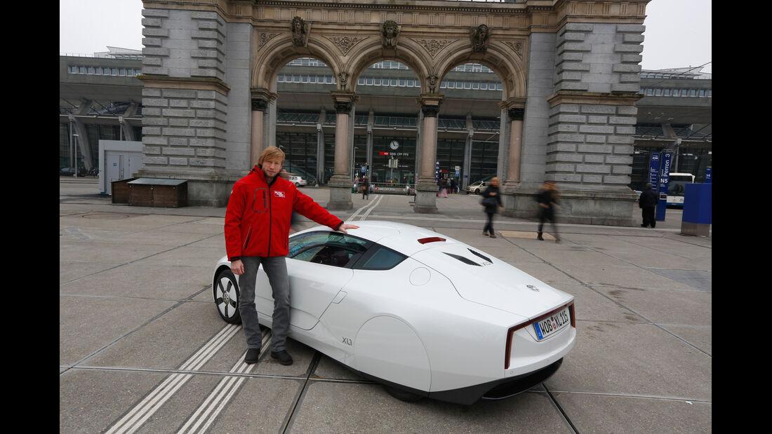 VW XL1, Heckansicht, Marcus Peters