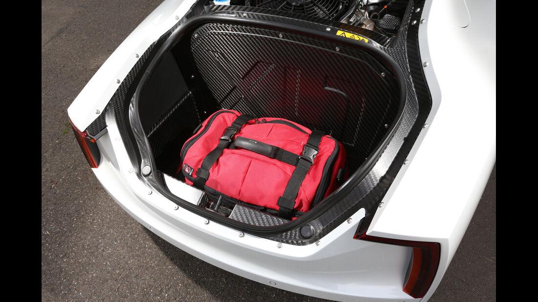 VW XL1, Kofferraum
