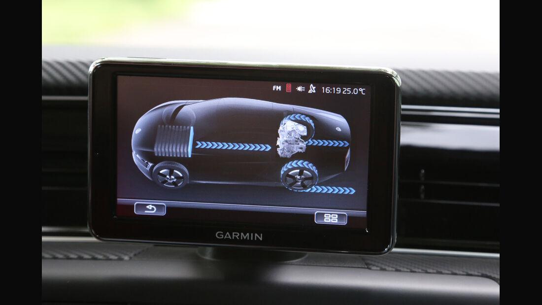 VW XL1, Monitor