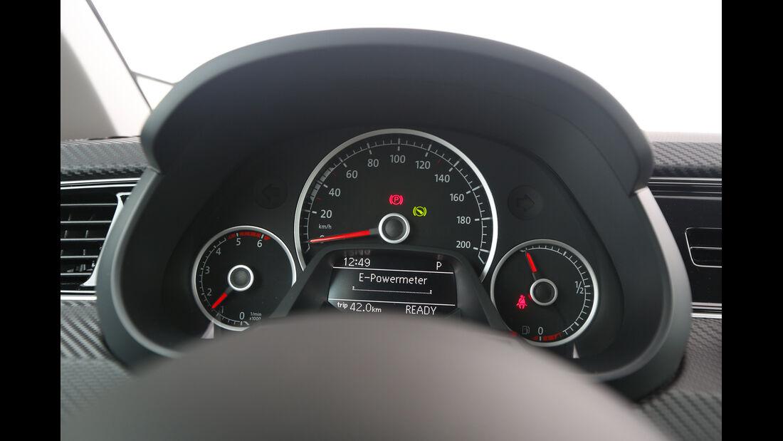 VW XL1, Rundinstrumente