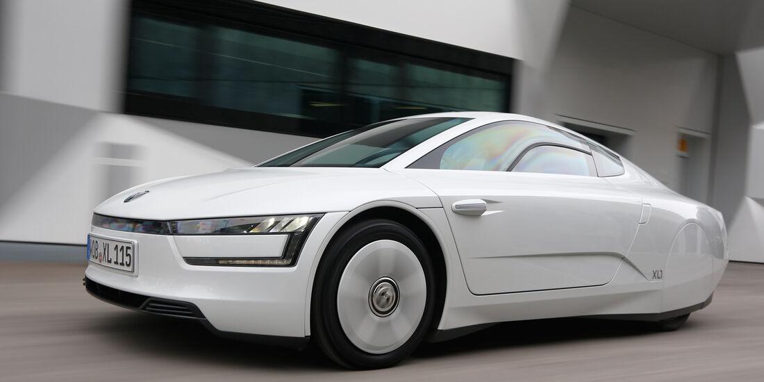 VW XL1, Seitenansicht