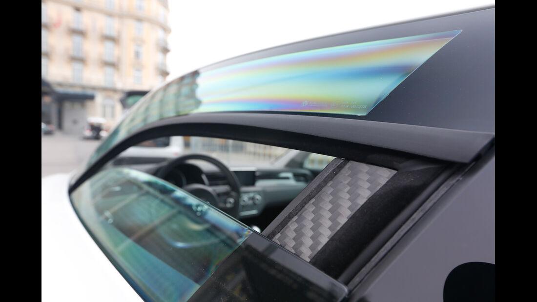 VW XL1, Seitenfenster