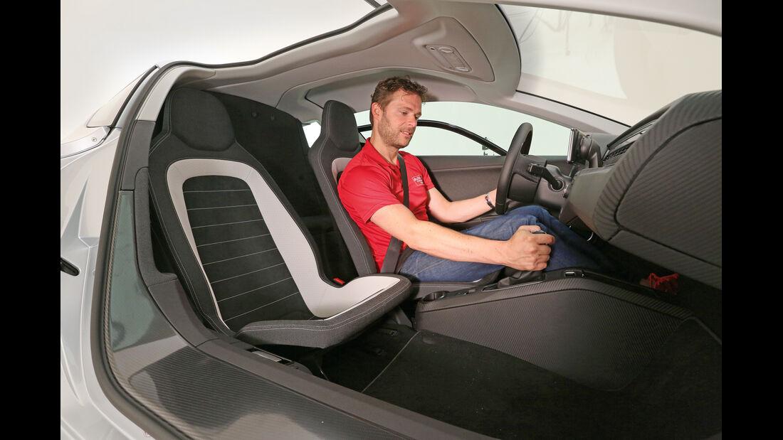 VW XL1, Sitze