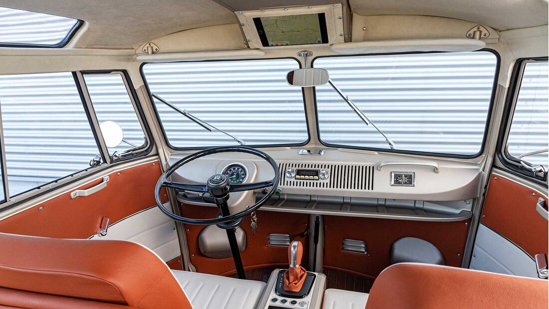 VW e-Bulli T1 Samba Elektro-Umbau (1966)