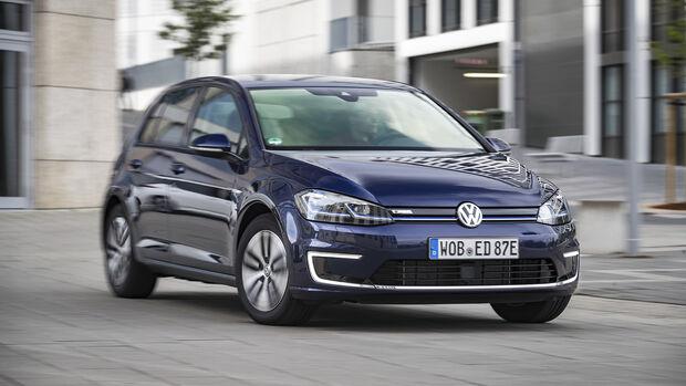 VW e-Golf, Exterieur