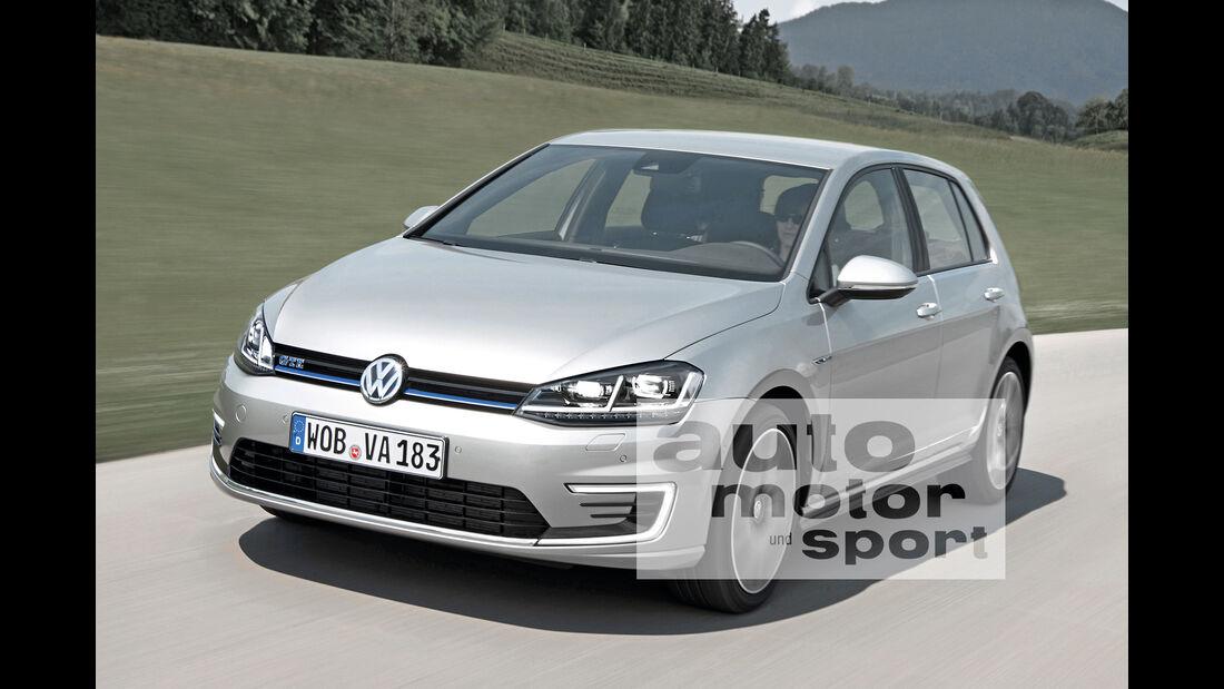 VW e-Golf Facelift