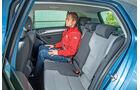 VW e-Golf, Fondsitz