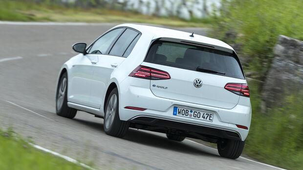 VW e-Golf Heck