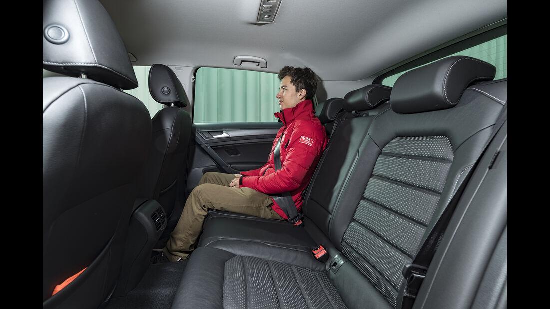 VW e-Golf Interieur
