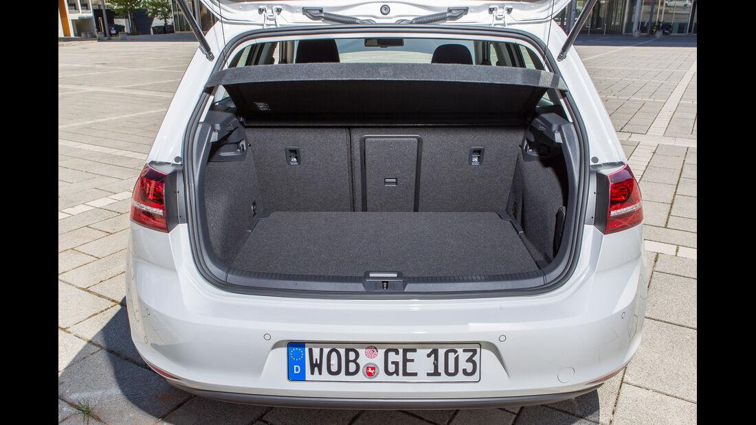 VW e-Golf, Kofferraum