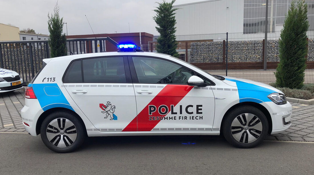 VW e-Golf Police Grand-Ducale