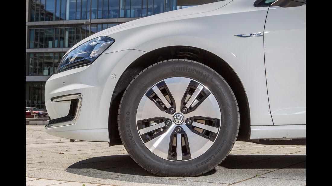 VW e-Golf, Rad, Felge