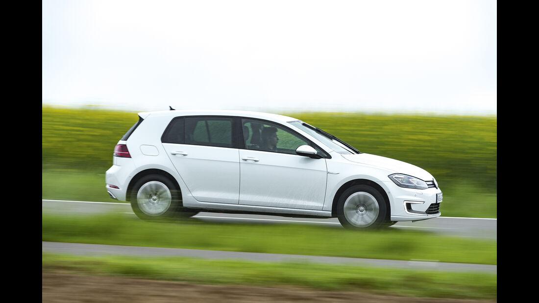 VW e-Golf Seite