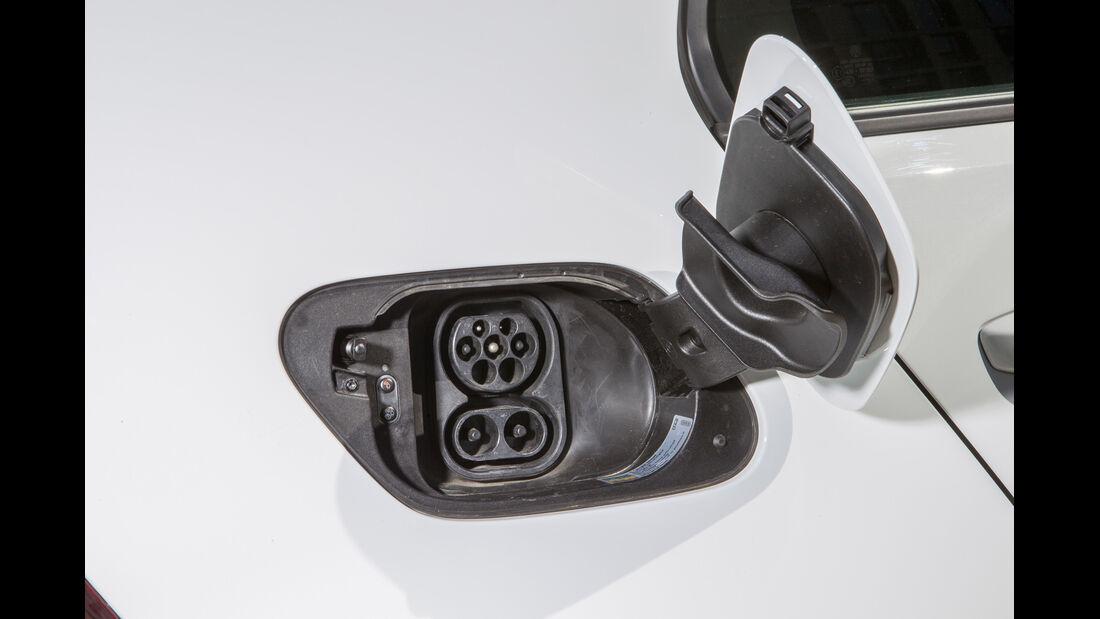 VW e-Golf, Strombuchse