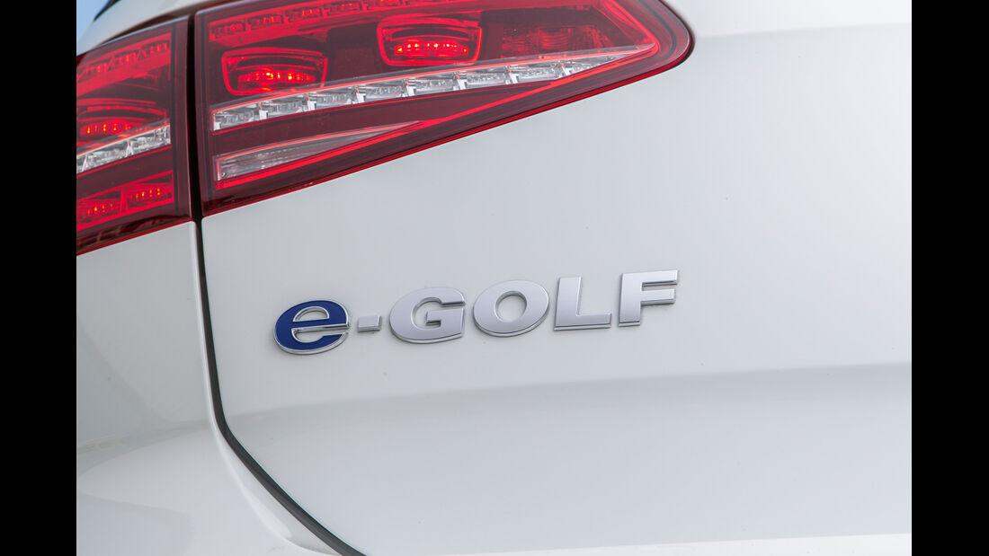 VW e-Golf, Typenbezeichnung