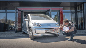 VW e-Up, Exterieur