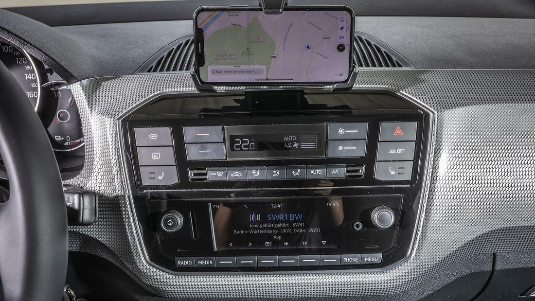 VW e-Up Style, Interieur
