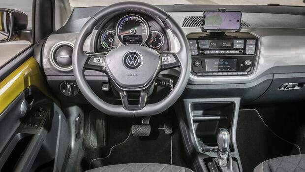 VW e-Up Style, Interieur