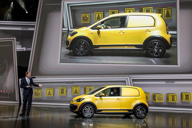 VW e load Up! auf der IAA 2013