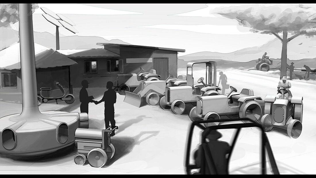 VW eTraktor Gen.Farm